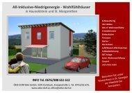 All-Inklusive-Niedrigenergie - Wohlfühlhäuser - Raiffeisen
