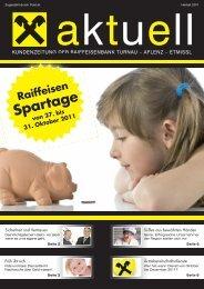Herbst 2011 - Raiffeisen