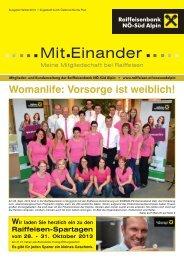 Ausgabe Herbst 2013 - Raiffeisen