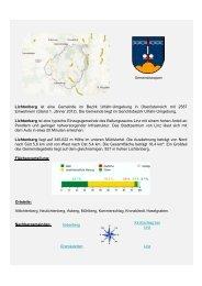 Lichtenberg ist eine Gemeinde im Bezirk Urfahr ... - Raiffeisen