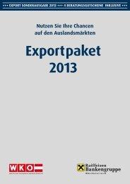 export Sonderausgabe 2013 (pdf) - Raiffeisen