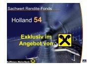 Sachwert Rendite-Fonds Holland 54 - Raiffeisen