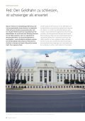 Anlagepolitik – Oktober 2013 Fed: Den Geldhahn zu ... - Raiffeisen - Page 6