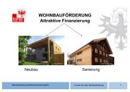 Land Tirol Abt. Wohnbauförderung (pdf) - Raiffeisen