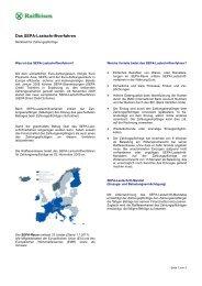 Das SEPA-Lastschriftverfahren - Raiffeisen