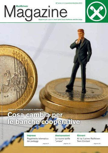 Cosa cambia per le banche cooperative - Raiffeisen