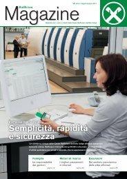 Semplicità, rapidità e sicurezza - Raiffeisen