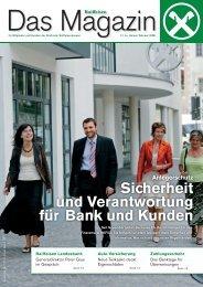 Sicherheit und Verantwortung für Bank und Kunden - Raiffeisen