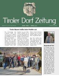 Tiroler Bauern helfen beim Praidler aus - Comune di Tirolo