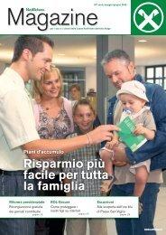 Risparmio più facile per tutta la famiglia Piani d'accumulo - Raiffeisen