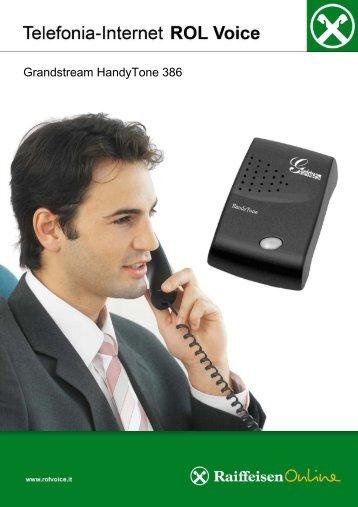 Grandstream HandyTone 386 - Raiffeisen OnLine