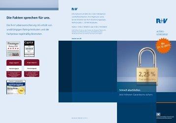 Weitere Informationen der R+V Versicherung - Volksbank ...