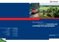 DB Schenker Rail – Ihr Partner für innovative und nachhaltige ...