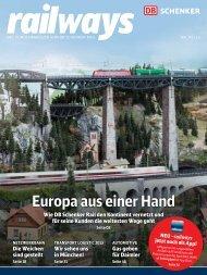 Europa aus einer Hand - DB Schenker Rail