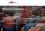 Bavaria Express (pdf) - Rail Cargo Austria