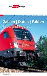 Zahlen | Daten | Fakten Facts and Figures - Rail Cargo Austria
