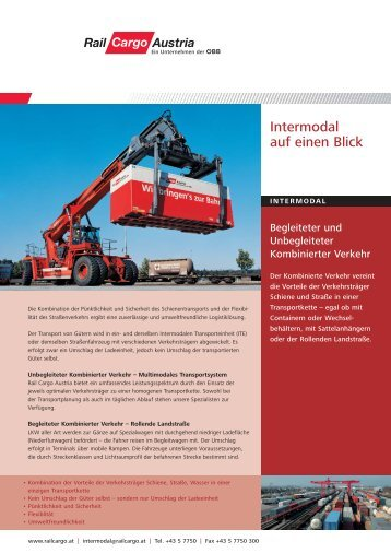 Intermodal - Rail Cargo Austria
