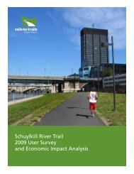 Schuylkill River Trail User Survey - Rails-to-Trails Conservancy