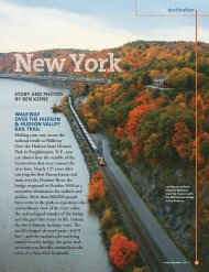 Destination: New York (PDF/1.25MB) - Rails-to-Trails Conservancy