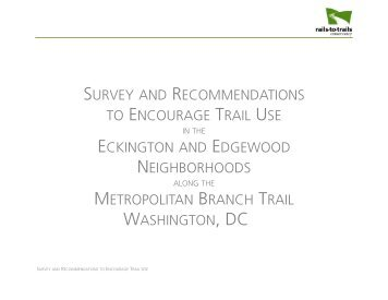 Survey and Recommendations for Encouraging Trail Use