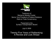Twenty-Five Years of Railbanking: A Review and Look Ahead