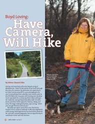 Boyd Loving: Have Camera, Will Hike - Rails-to-Trails Conservancy