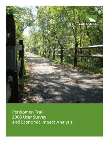 Perkiomen Trail 2008 User Survey and Economic Impact Analysis