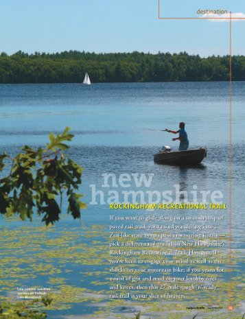 Destination: New Hampshire - Rails-to-Trails Conservancy