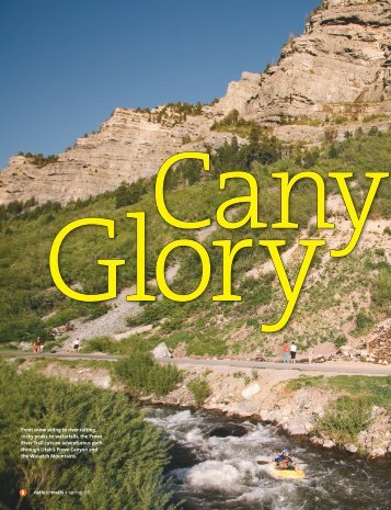 Utah's Canyon Glory - Rails-to-Trails Conservancy