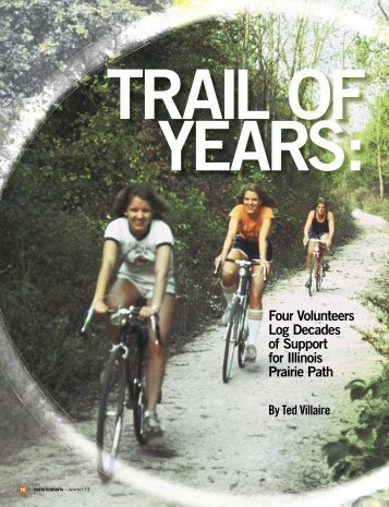 Trail of Years (PDF/740KB) - Rails-to-Trails Conservancy