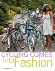 Cycling Comes Into Fashion - Rails-to-Trails Conservancy