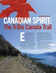 By Gerry Donohue - Trans Canada Trail Foundation