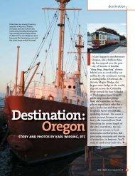 Destination: Oregon (PDF 924KB) - Rails-to-Trails Conservancy