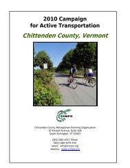 Chittenden County, Vermont - Rails-to-Trails Conservancy
