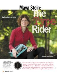 The Type Rider (PDF/228KB) - Rails-to-Trails Conservancy