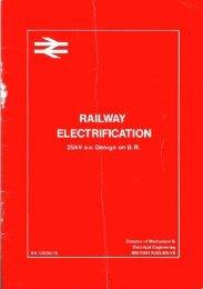 Railway Electrification - The Railways Archive