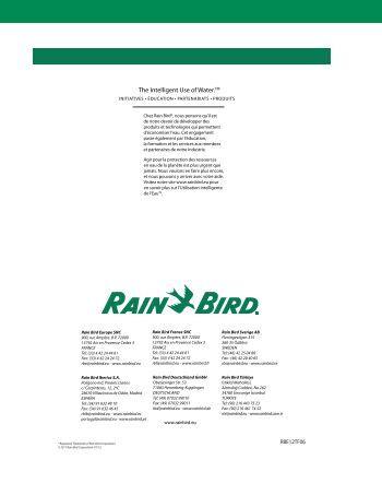 arrosage automatique rain bird irrigation. Black Bedroom Furniture Sets. Home Design Ideas