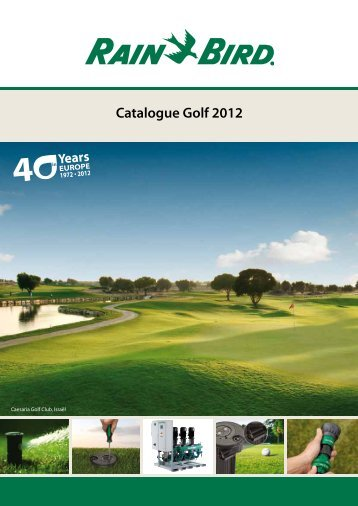 Catalogue Golf 2012 - Rain Bird irrigation