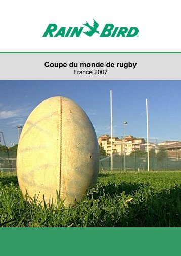 Etudes de systems d 39 irrigation rain bird - Coupe du monde de rugby en france 2007 ...