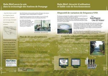 Rain Bird ouvre la voie dans la technologie des Stations de ...