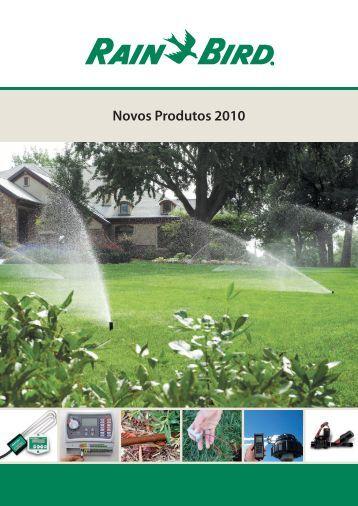Novos Produtos 2010 - Rain Bird