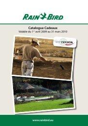 Catalogue Cadeaux - Rain Bird
