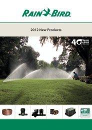 2012 New Products - Rain Bird