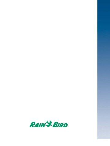Guida RAIN BIRD per il mantenimento di aree verdi ... - Irrigarden