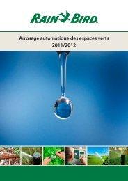 Arrosage automatique 2012 - Rain Bird
