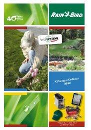 Catalogue Cadeaux 2012 - Rain Bird