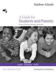 Download PDF - Rainbow District School Board