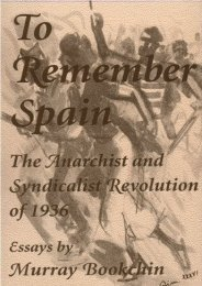 to remember spain [the anarchist and syndicalist revolution ... - Libcom