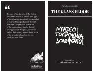 Imposed printable PDF version of 'The Glass Floor - Libcom