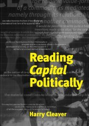 READING CAPITAL POLITICALLY - Libcom